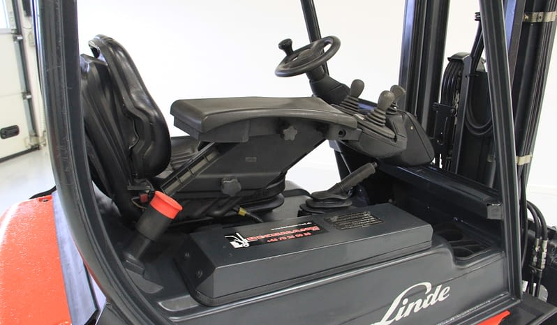 Linde E18 Gaffeltruck full