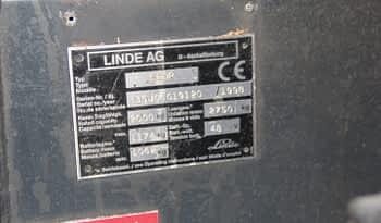 Linde E20P Gaffeltruck full